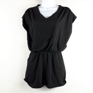 Black Short Romper